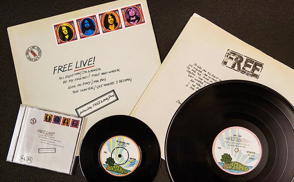 Free Live 1971 Island Records