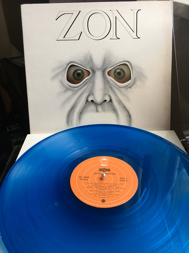 Zon Vinyl 1978 Astral Projector