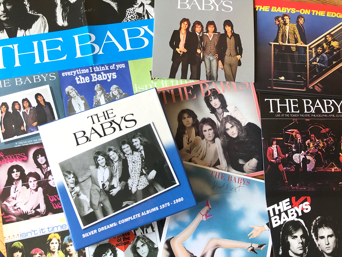 The Babys : Silver Dreams: Complete Albums 1975 - 1989 6CD Box Set