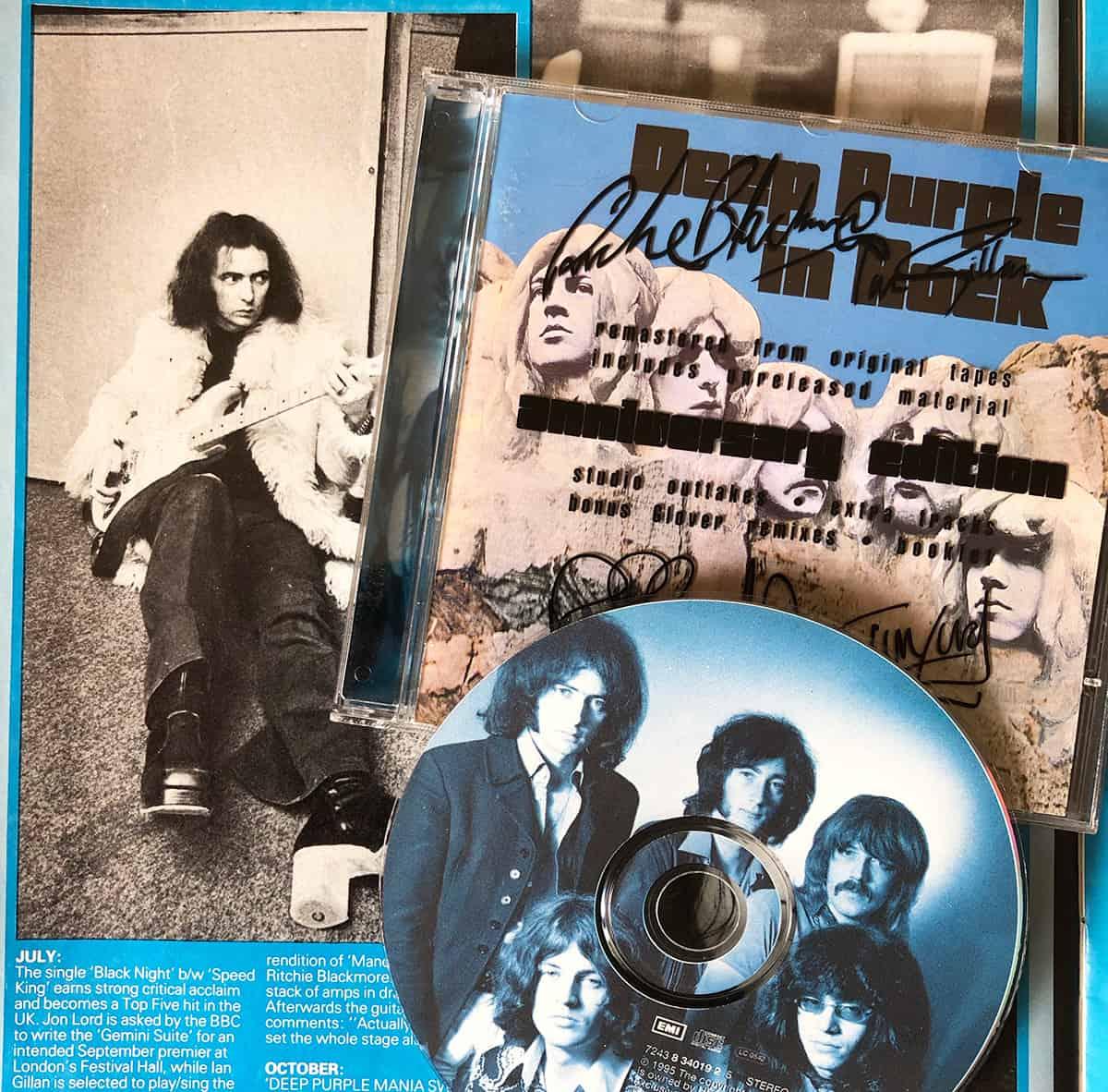 Deep Purple In Rock CD 1995