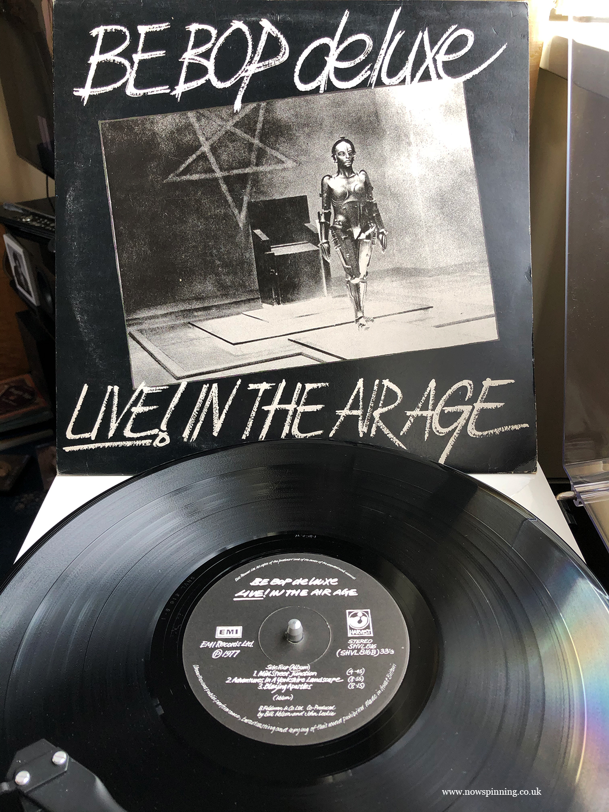 Be Bop Deluxe Live in the air age vinyl album