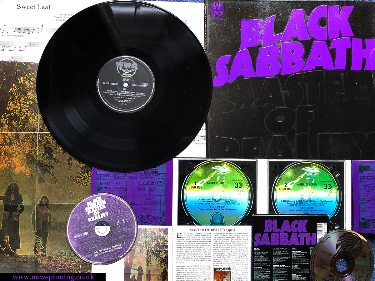 Black Sabbath Master of Reality - classic albums revisited