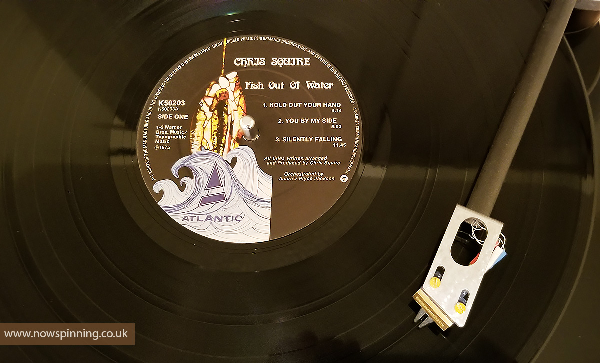 Chris Squire Fish Out of Water Now Spinning