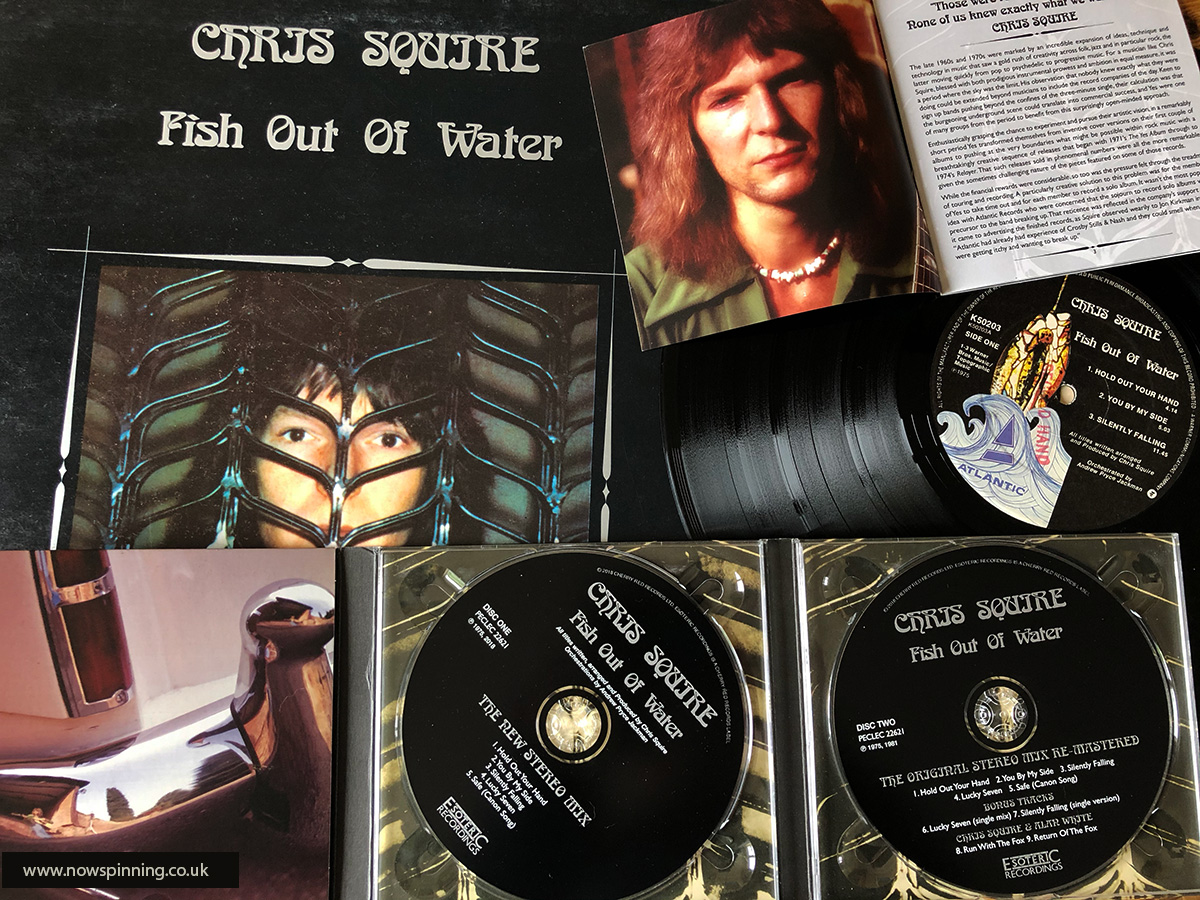 Chris Squire Fish Out of Water