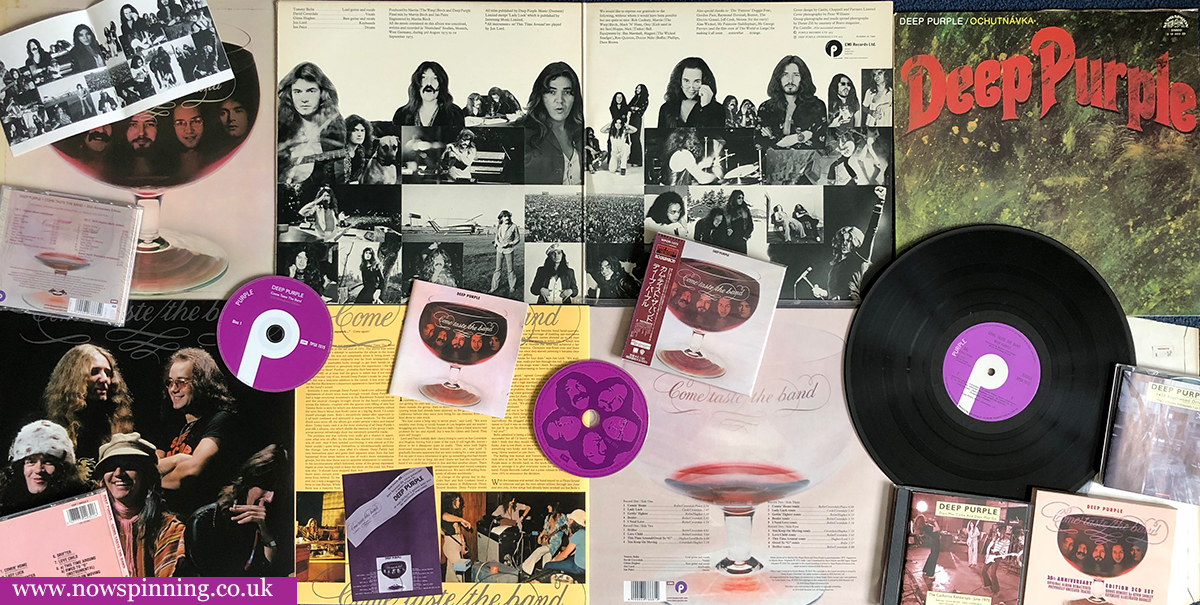 Deep Purple Come Taste The Band - Review