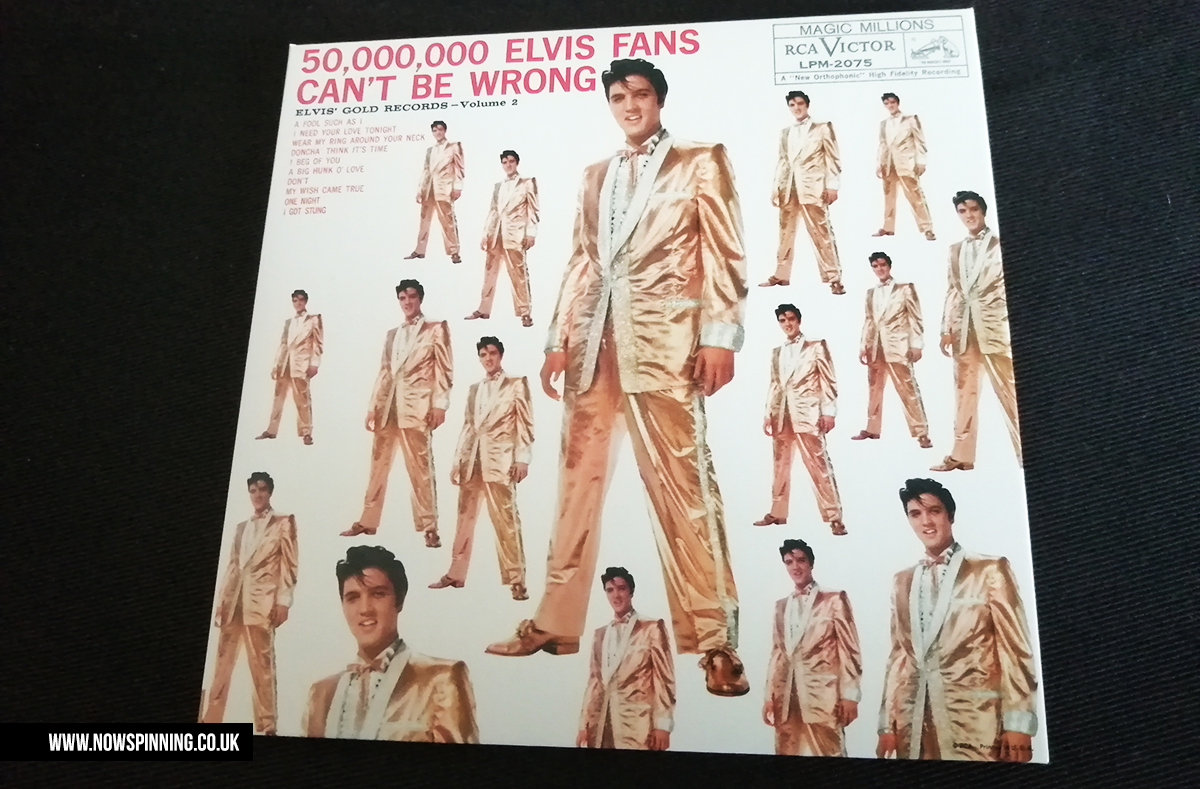 Elvis Presley 50,000 fans