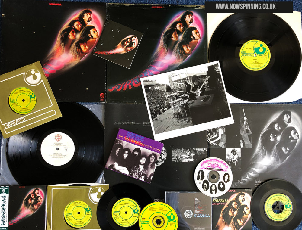 Deep Purple Fireball 1971 classic album review