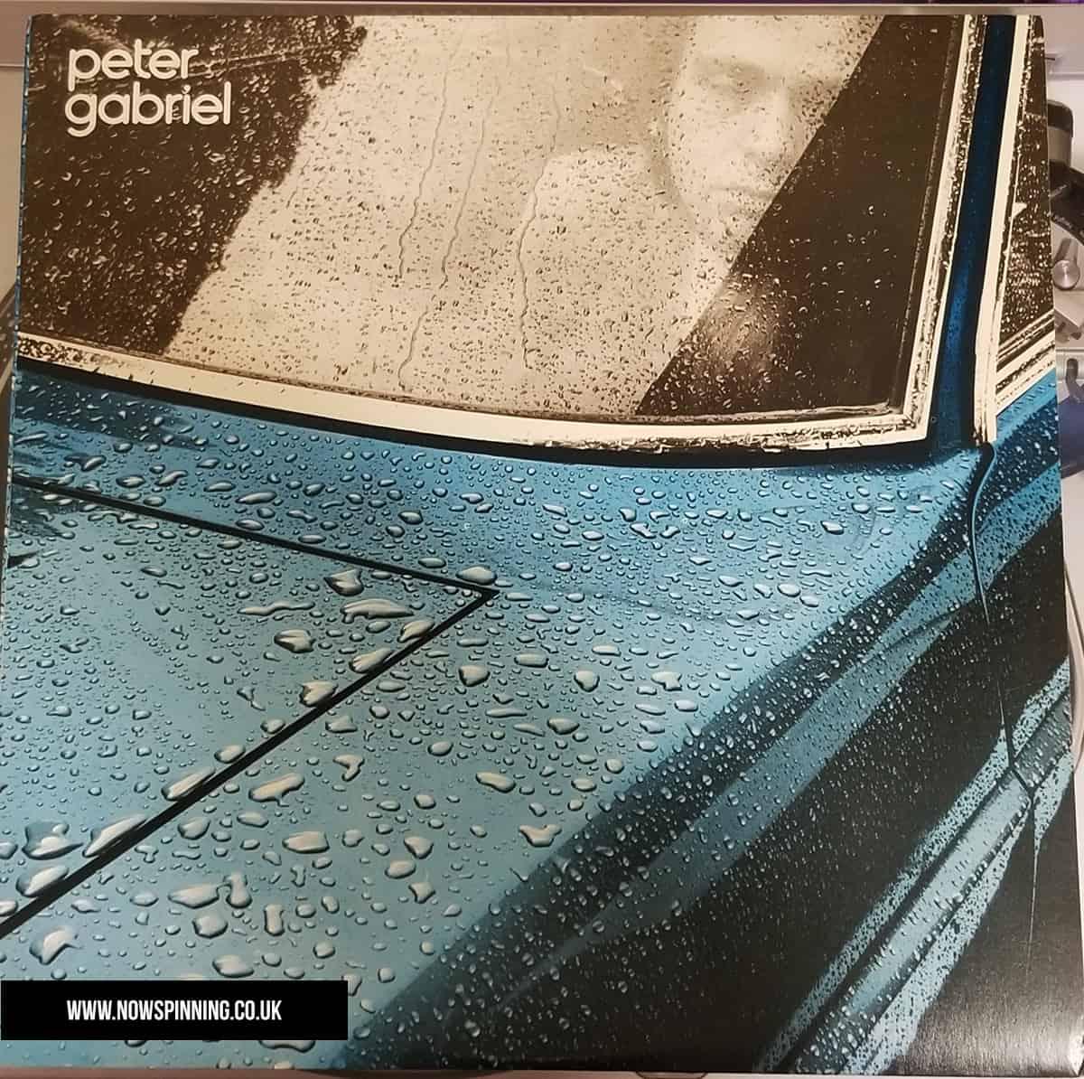 Peter Gabriel 1st solo album front cover