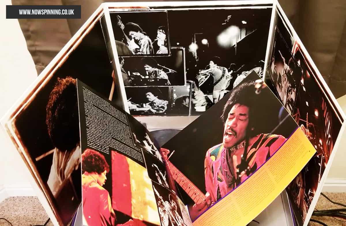 Jimi Hendrix Live at The Isle of White 3LP