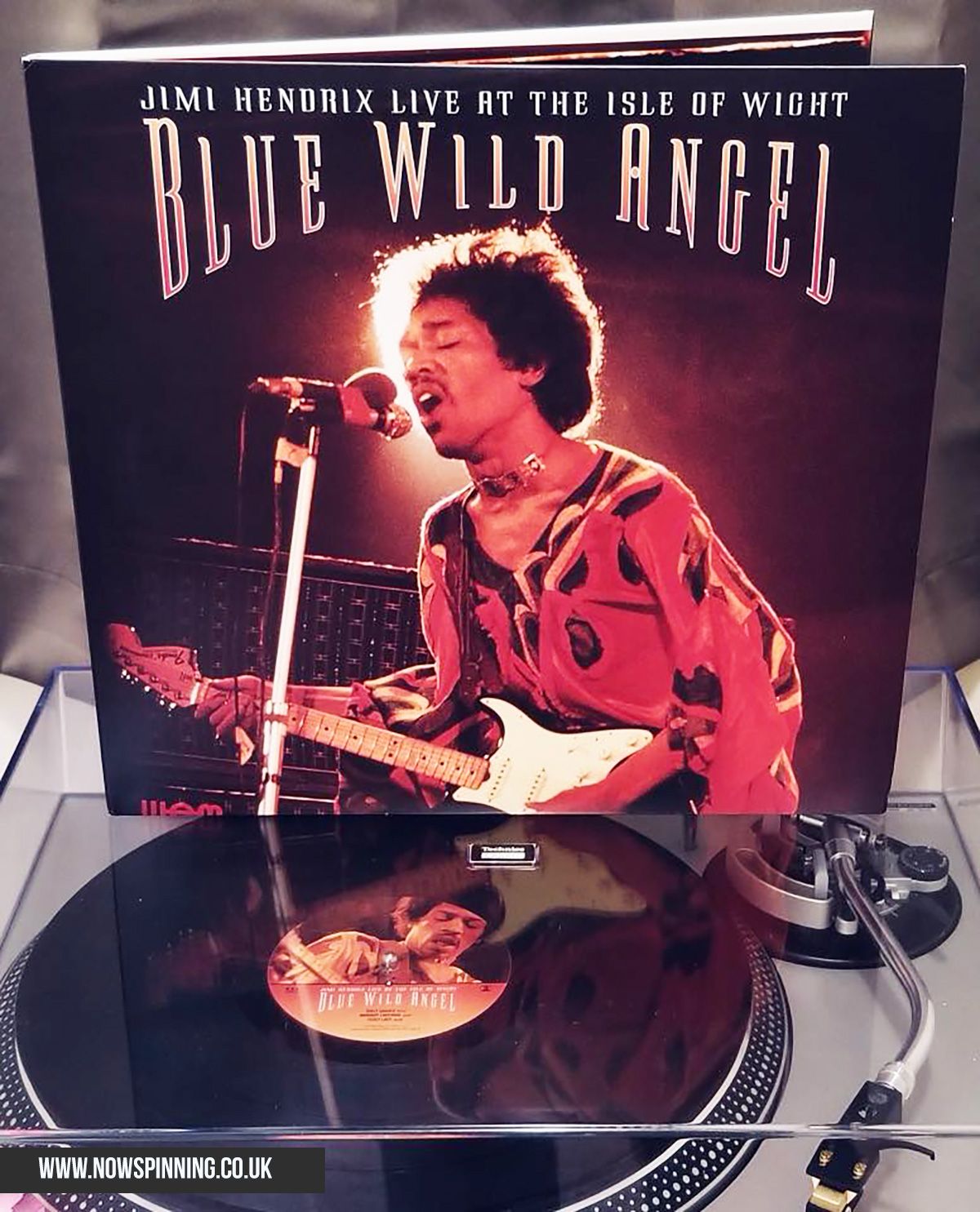 Jimi Hendrix Blue Wild Angel Vinyl