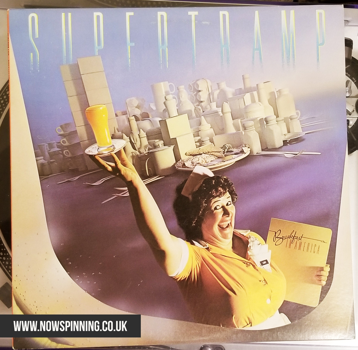Supertramp Breakfast in America album cover