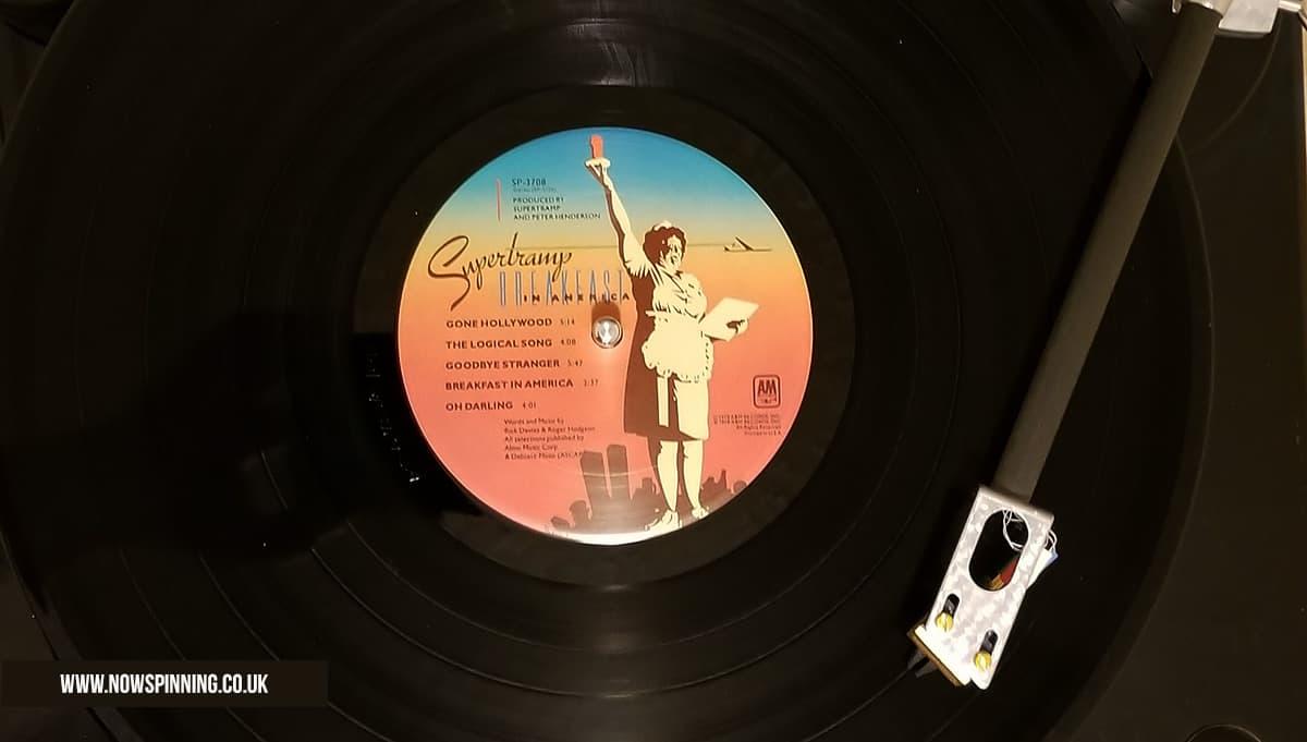 Supertramp Breakfast in America vinyl