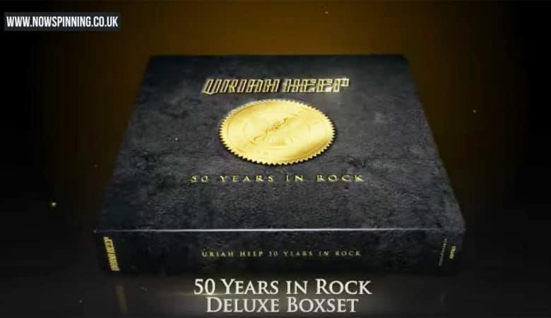 Uriah Heep 50 years in rock box set