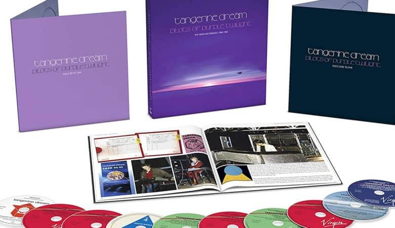 Tangerine Dream - Pilots of Purple Twilight: The Virgin Recordings 1980 -1983