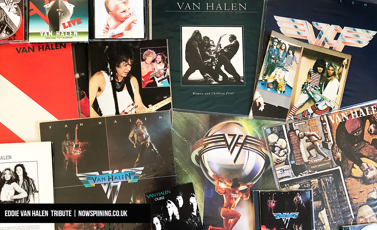 Eddie Van Halen Tribute from Now Spinning