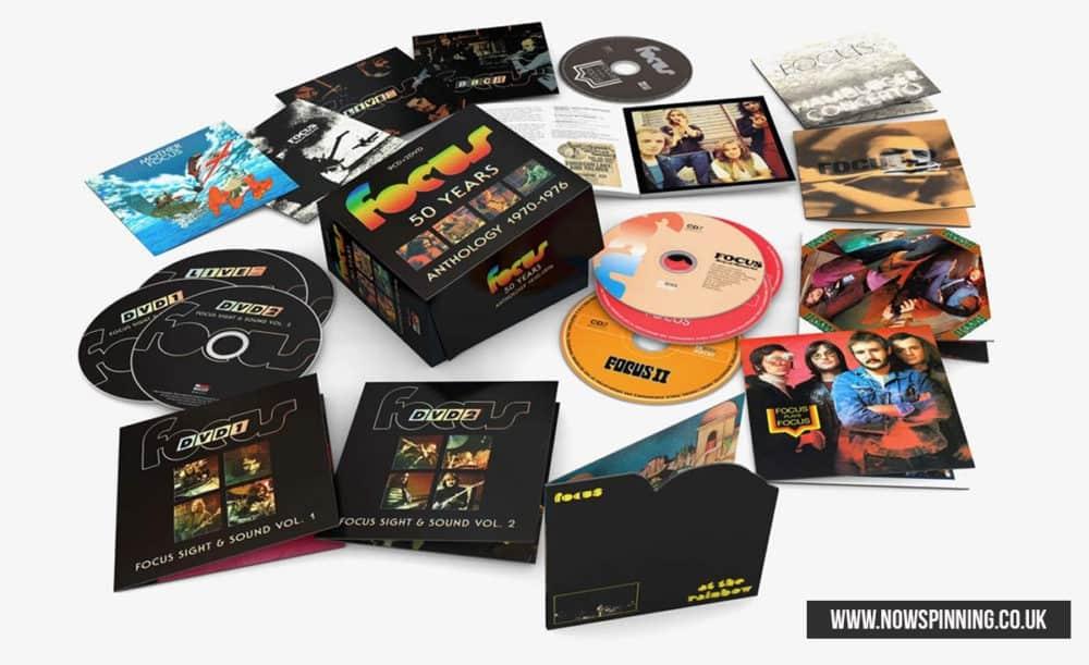 Focus / 50 Years: Anthology 1970-1976 Box Set 2020