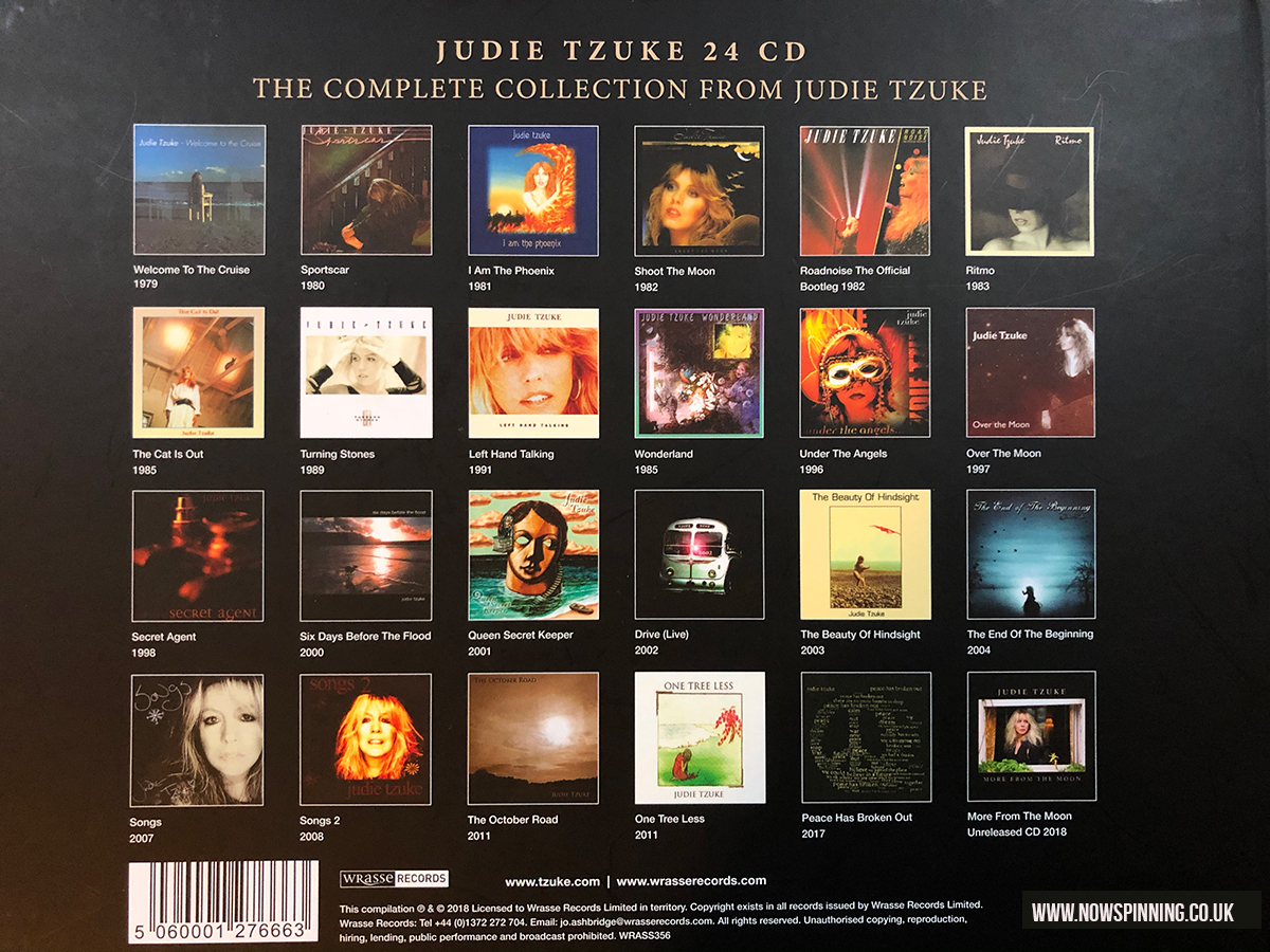 Judie Tzuke The Complete Albums