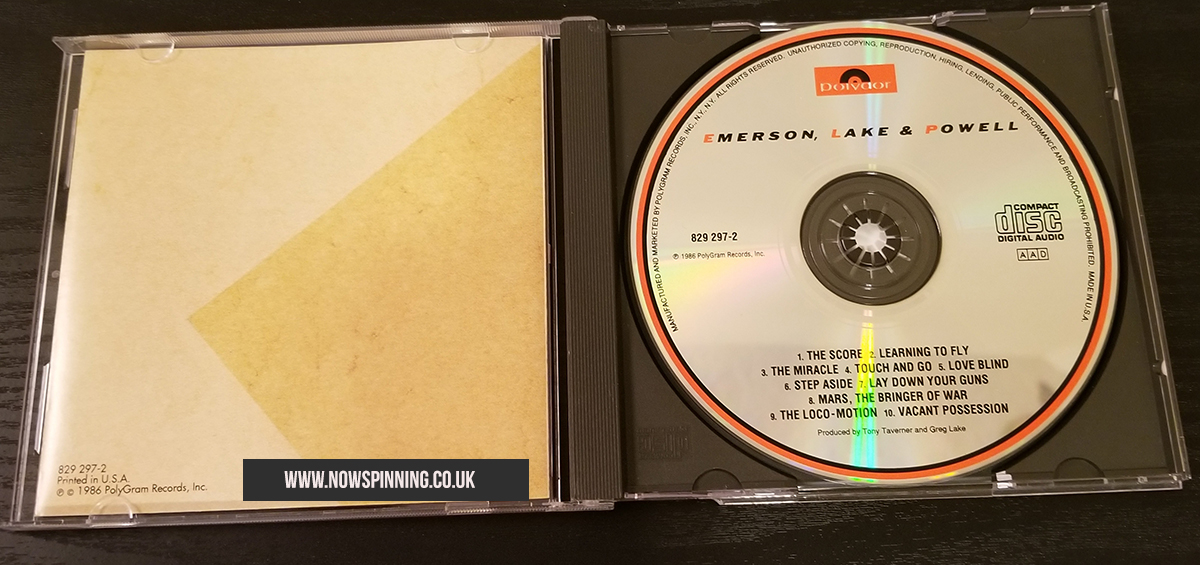 Emerson Lake and Powell CD