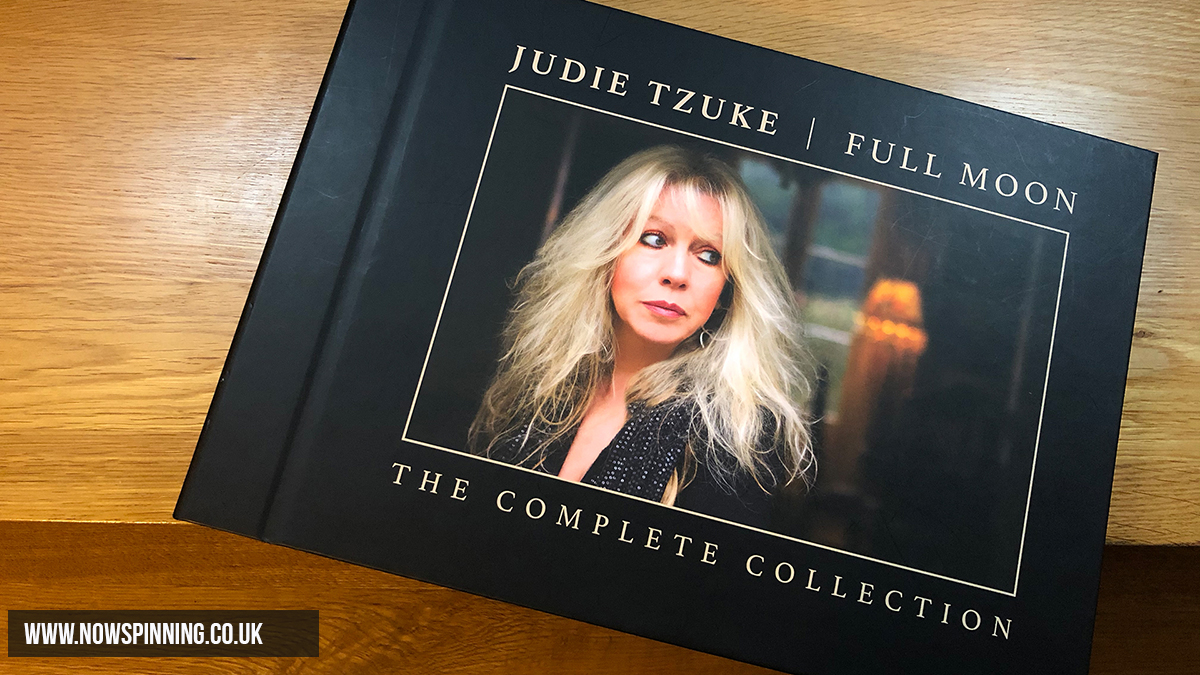 Unboxing Judie Tzuke Full Moon Box set Now Spinning Magazine