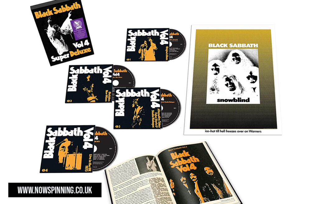 Black Sabbath Vol4 Super Deluxe Edition