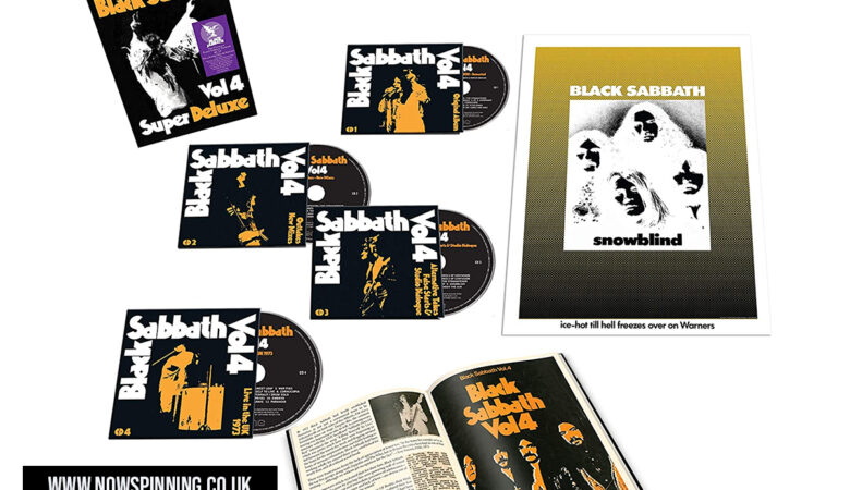 Black Sabbath Vol4 Super Deluxe Edition