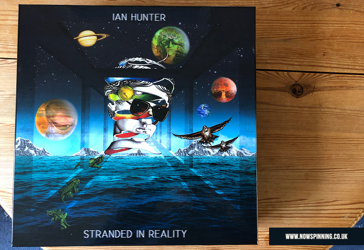 unboxing Ian Hunter Stranded in Reality Box Set Now Spinning