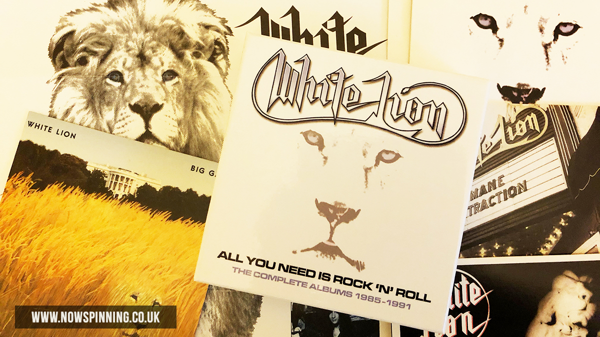 White Lion - All You Need Is Rock n Rock- The Complete Albums 1985 -1991 unboxing review