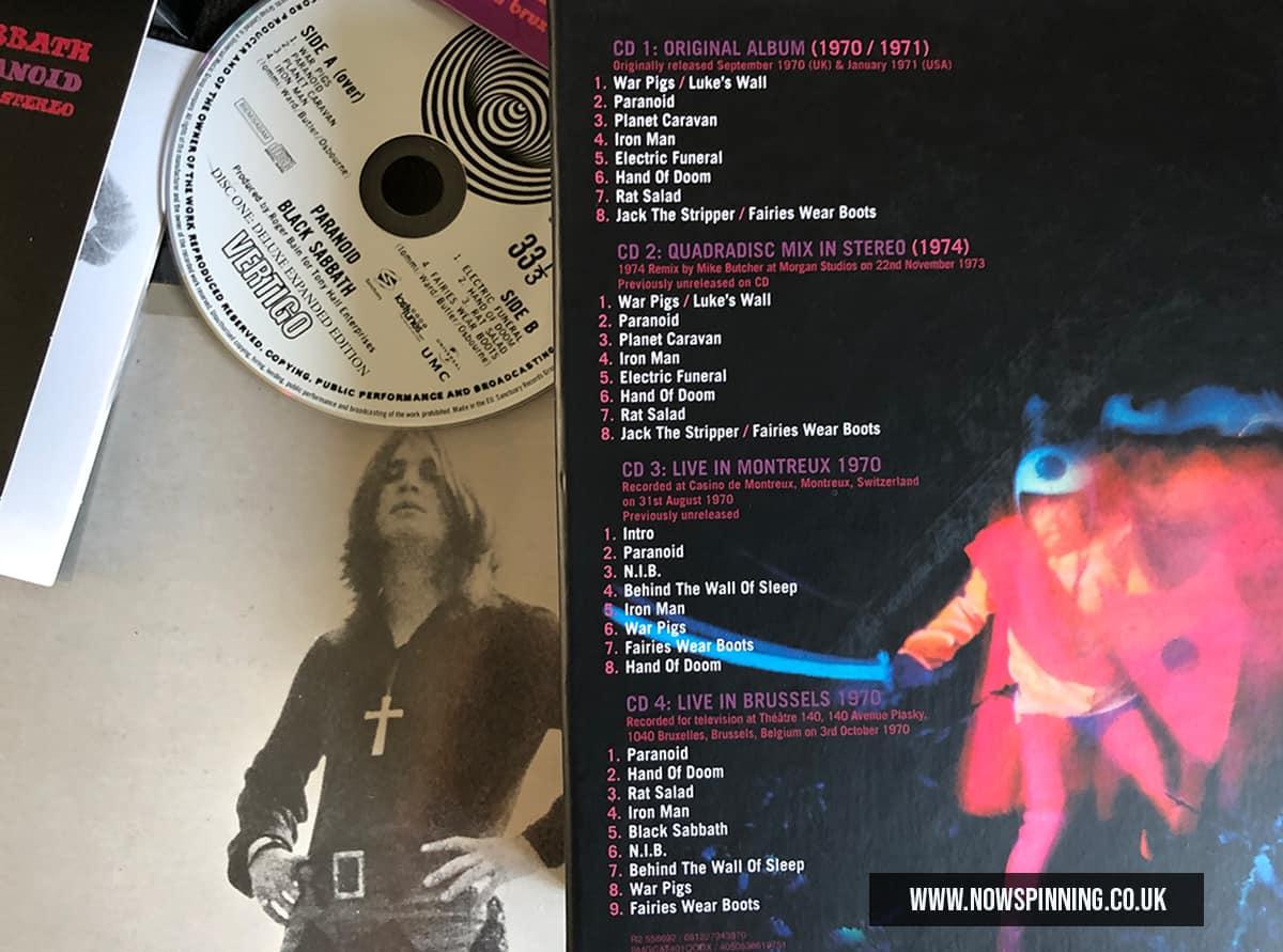 Black Sabbath Unboxing Super Deluxe Edition Box Set