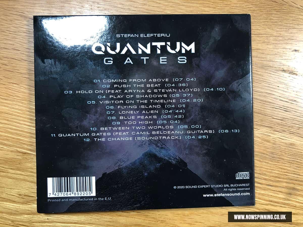 Stefan Elefteriu : Quantum Gates Album Review