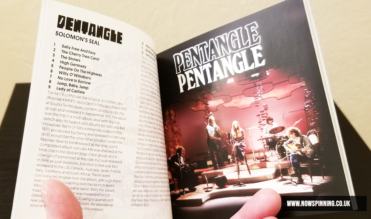 Pentangle 50th Anniversary Box Set