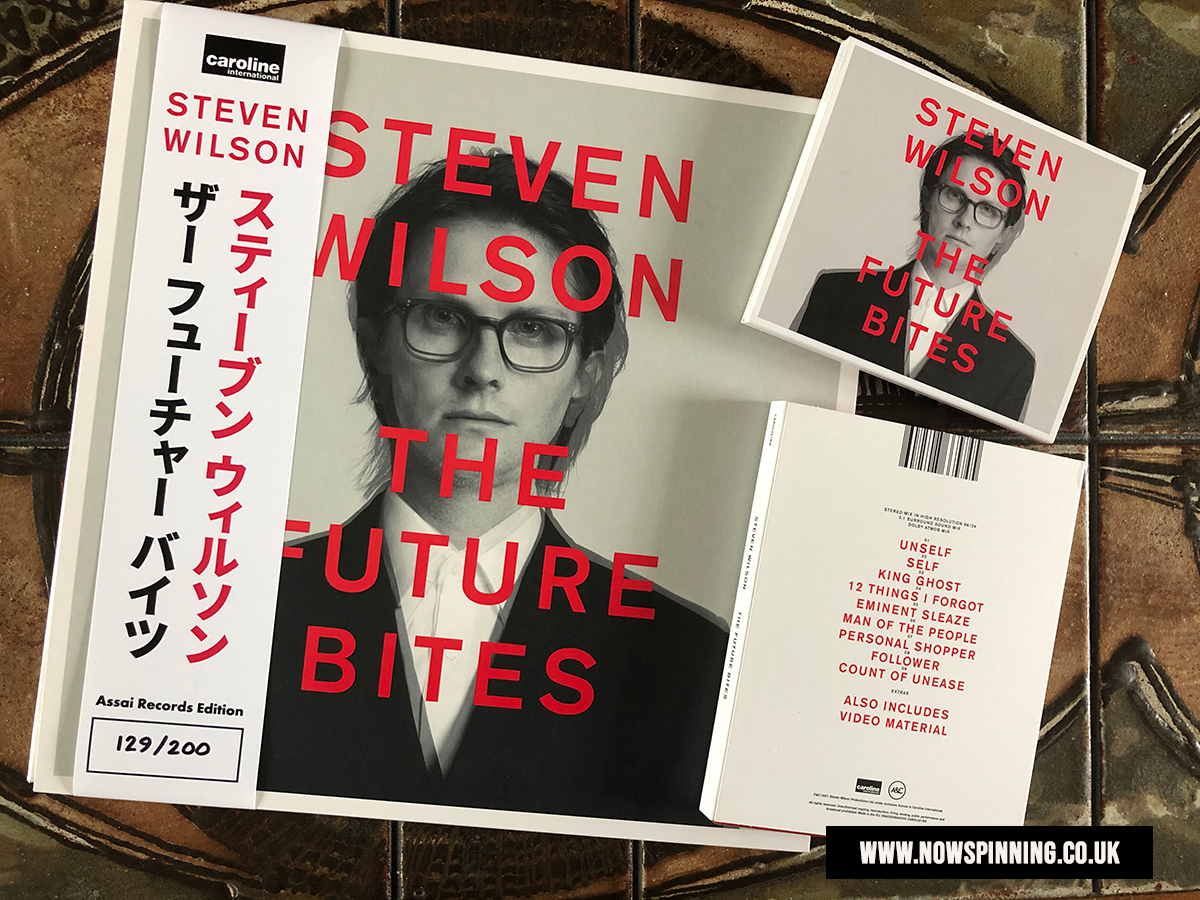 The Future Bites by Steven Wilson - Formats