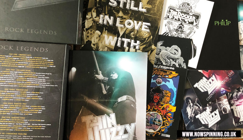 Unboxing Thin Lizzy Rock Legends CD DVD Box Set