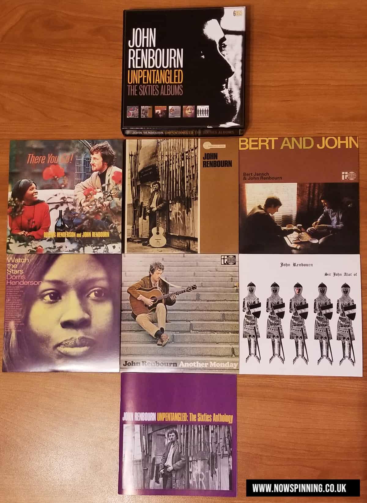 John Renbourn: Unpentangled – The Sixties Albums Boxset