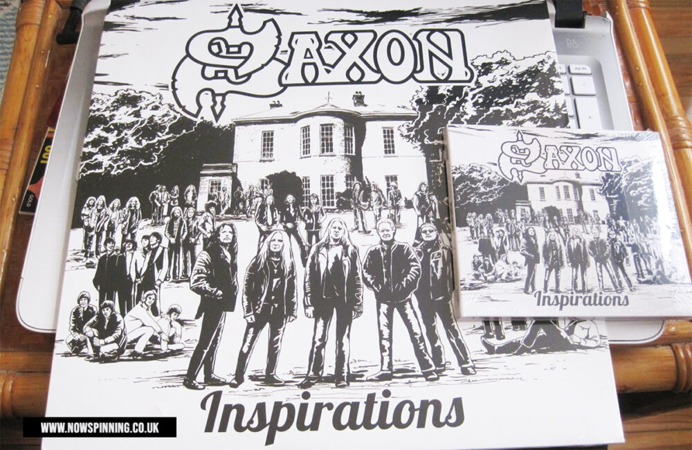 Saxon Inspirations album review on Now Spinning