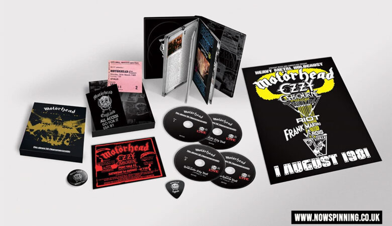 Motorhead No Sleep 'Til Hammersmith (40th Anniversary Deluxe Edition Boxset)