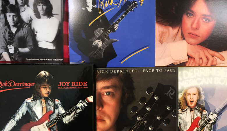 Rick Derringer Joy Ride Solo Albums Box Set Review