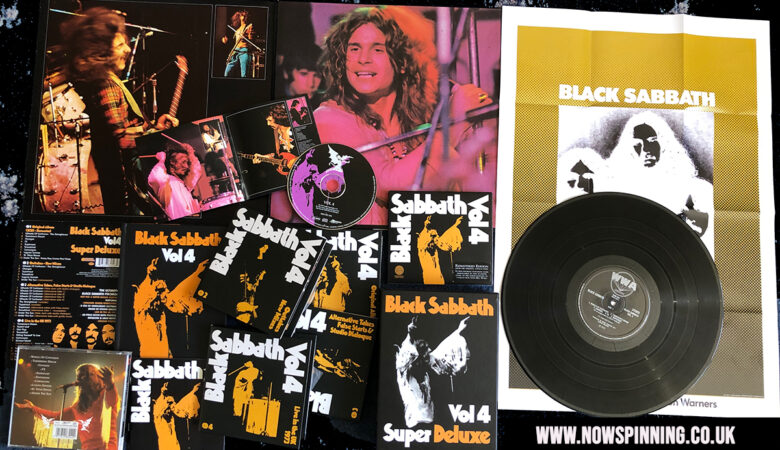 Black Sabbath Vol4 Super Deluxe Box Set Review
