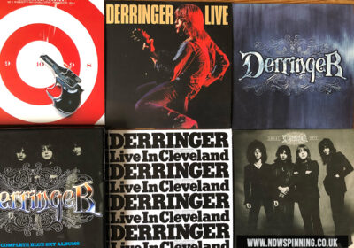 Unboxing Derringer The Complete Blue Sky Albums 5CD Box Set