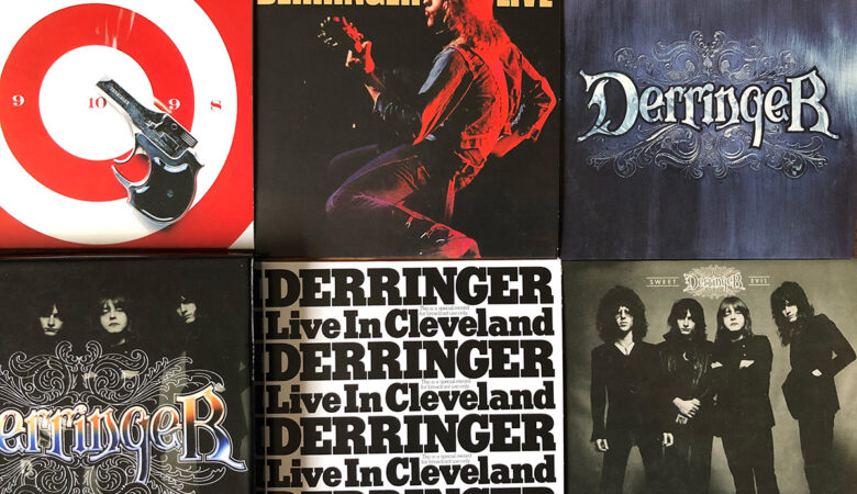 Unboxing Derringer The Complete Blue Sky Albums 5CD Box Set