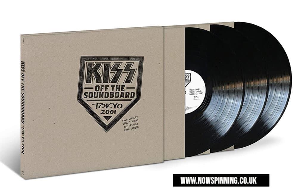 Kiss Off The Soundboard: Tokyo Dome – Tokyo, Japan 3LP Vinyl