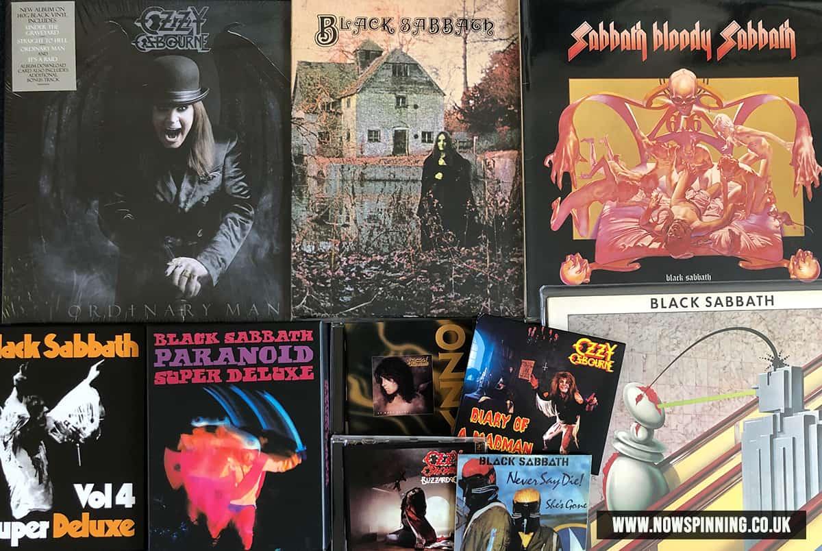 Ozzy Osbourne Top Ten Tracks of All Time