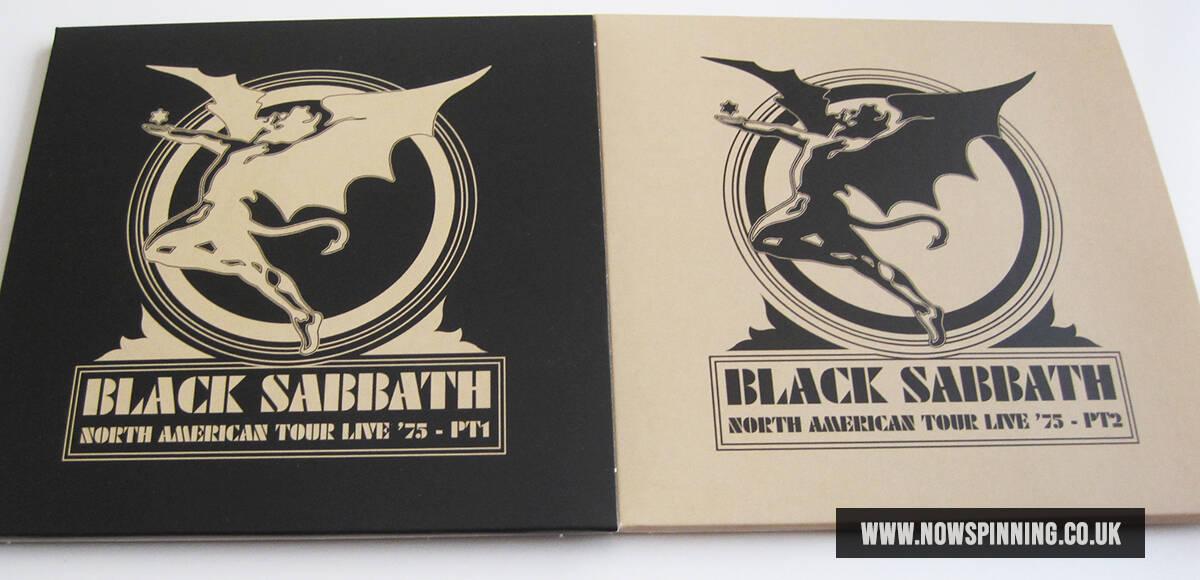Black Sabbath Live 1975 from the Sabotage Box Set