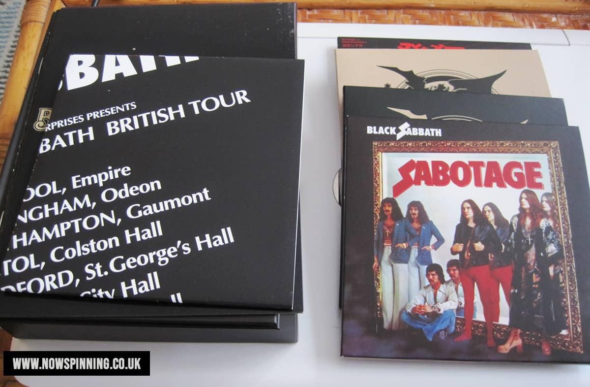 Black Sabbath Sabotage Deluxe 4CD Box Set Review