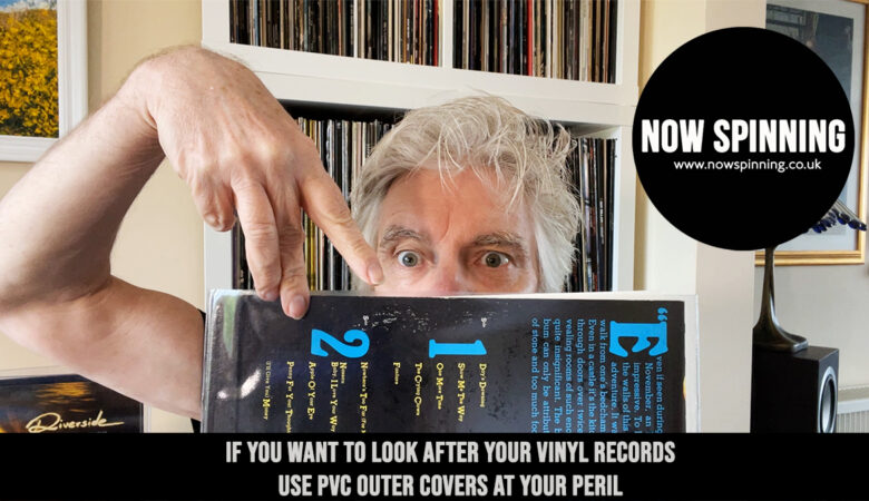 Don't Use PVC covers on your vinyl ever