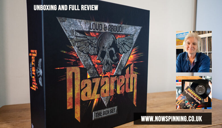 Nazareth Loud and Proud 40 disc Vinyl and Cd box set reviewed and unboxing
