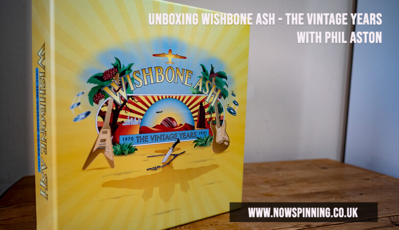 Unboxing Wishbone Ash - The Vintage Years 30CD Box Set