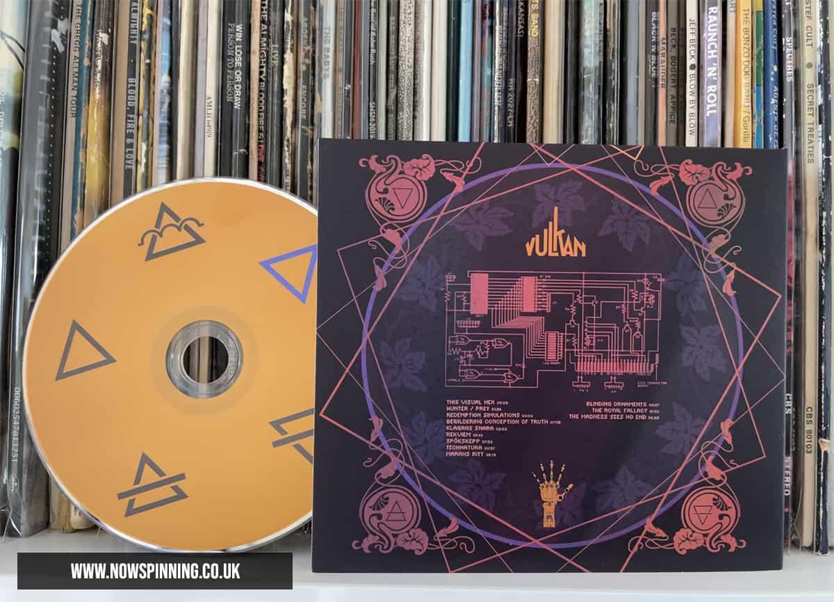 Sweden Progressive Metal Band Vulkan