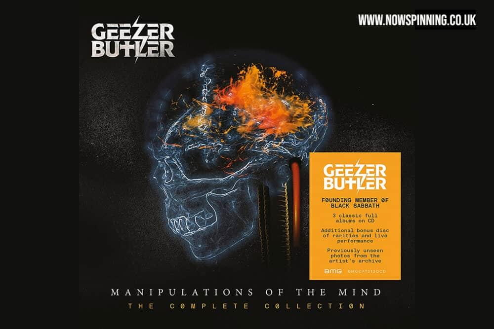 Geezer Bulter 4CD Box Set - Manipulations of The Mind