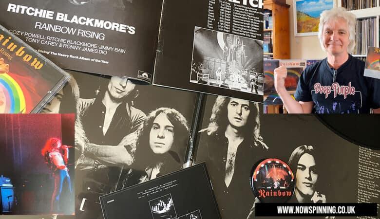Rainbow Rising Tour Program Signed by Robert Plant