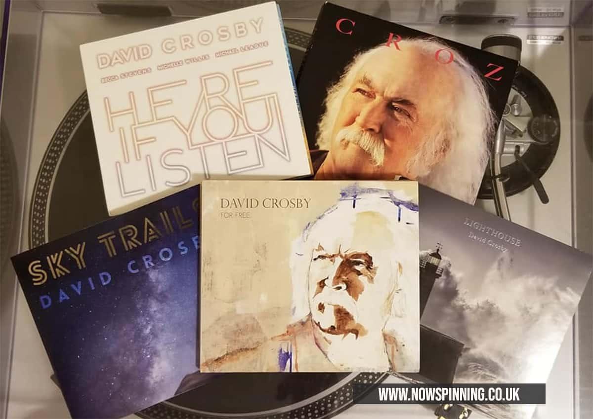 david Crosby Solo Albums